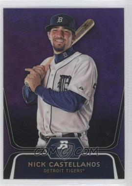 2012 Bowman Platinum Retail Prospects Purple Refractor #BPP97 - Nick Castellanos