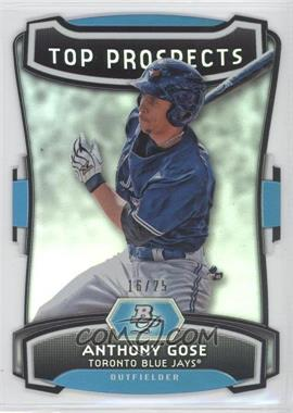 2012 Bowman Platinum Top Prospects Die-Cut #TP-AG - Anthony Gose /25