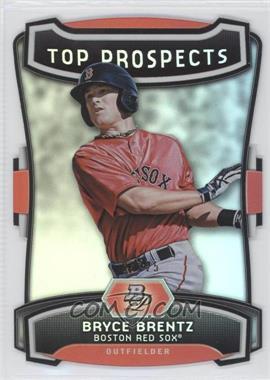 2012 Bowman Platinum Top Prospects Die-Cut #TP-BB - Bryce Brentz /25