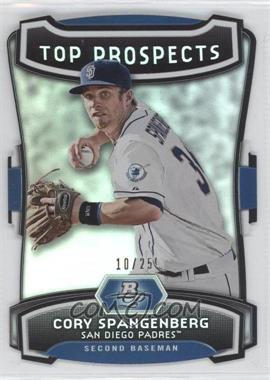 2012 Bowman Platinum Top Prospects Die-Cut #TP-CS - Cory Spangenberg /25