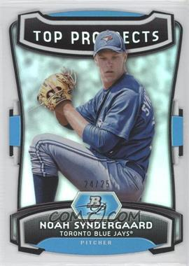 2012 Bowman Platinum Top Prospects Die-Cut #TP-NS - Noah Syndergaard /25