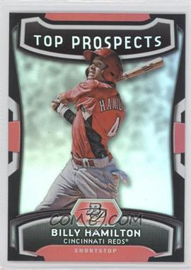 2012 Bowman Platinum Top Prospects #TP-BH - Billy Hamilton