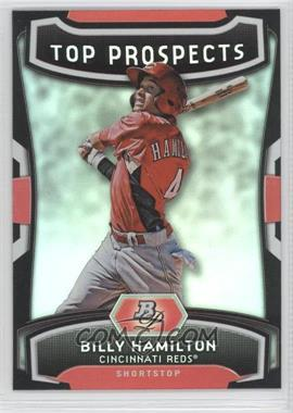 2012 Bowman Platinum Top Prospects #TP-BH - Billy Hamilton