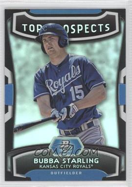 2012 Bowman Platinum Top Prospects #TP-BS - Bubba Starling