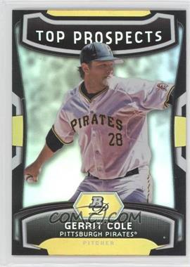 2012 Bowman Platinum Top Prospects #TP-GC - Gerrit Cole