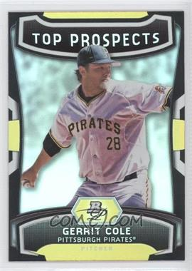 2012 Bowman Platinum Top Prospects #TP-GC - Gerrit Cole