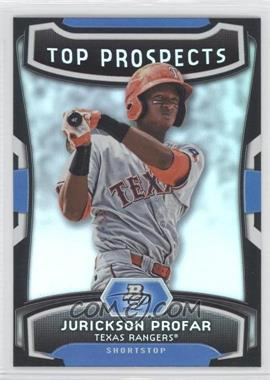 2012 Bowman Platinum Top Prospects #TP-JP - Jurickson Profar
