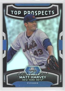 2012 Bowman Platinum Top Prospects #TP-MH - Matt Harvey