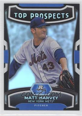 2012 Bowman Platinum Top Prospects #TP-MH - Matt Harvey