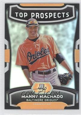 2012 Bowman Platinum Top Prospects #TP-MM - Manny Machado