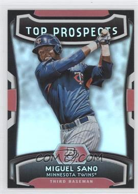 2012 Bowman Platinum Top Prospects #TP-MS - Miguel Sano