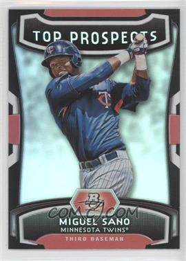 2012 Bowman Platinum Top Prospects #TP-MS - Miguel Sano