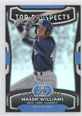 2012 Bowman Platinum Top Prospects #TP-MW - Mason Williams