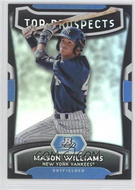2012 Bowman Platinum Top Prospects #TP-MW - Mason Williams