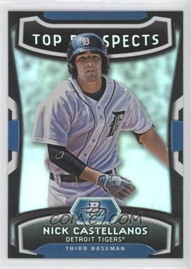 2012 Bowman Platinum Top Prospects #TP-NC - Nick Castellanos