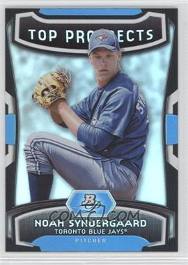 2012 Bowman Platinum Top Prospects #TP-NS - Noah Syndergaard