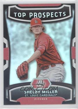 2012 Bowman Platinum Top Prospects #TP-SM - Shelby Miller