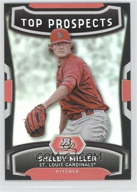 2012 Bowman Platinum Top Prospects #TP-SM - Shelby Miller