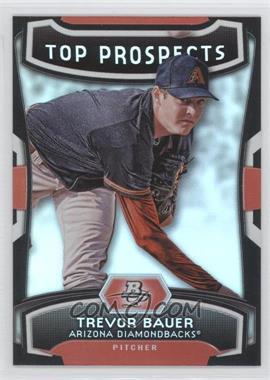 2012 Bowman Platinum Top Prospects #TP-TB - Trevor Bauer