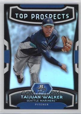 2012 Bowman Platinum Top Prospects #TP-TJW - Taijuan Walker