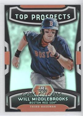 2012 Bowman Platinum Top Prospects #TP-WMK - Will Middlebrooks