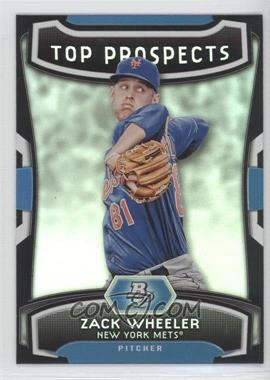 2012 Bowman Platinum Top Prospects #TP-ZW - Zack Wheeler