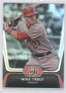 2012 Bowman Platinum #16 - Mike Trout