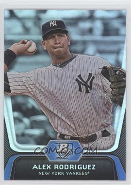 2012 Bowman Platinum #36 - Alex Rodriguez