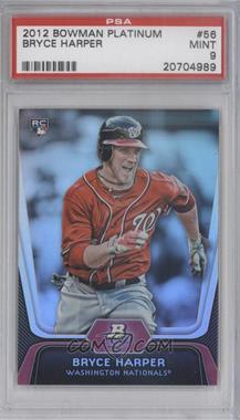 2012 Bowman Platinum #56 - Bryce Harper [PSA9]