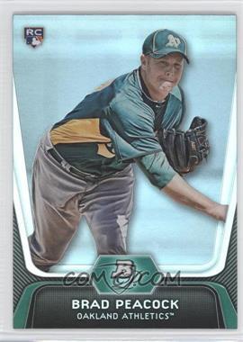 2012 Bowman Platinum #60 - Brad Peacock