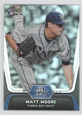 2012 Bowman Platinum #99 - Matt Moore