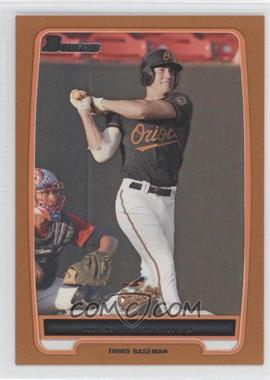 2012 Bowman Prospects Orange #BP92 - Nick Delmonico /250