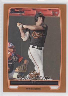 2012 Bowman Prospects Orange #BP92 - Nick Delmonico /250