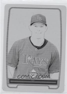 2012 Bowman Prospects Printing Plate Black #BP57 - Chris Rearick /1