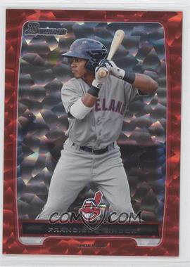 2012 Bowman Prospects Red Ice #BP3 - Francisco Lindor /25