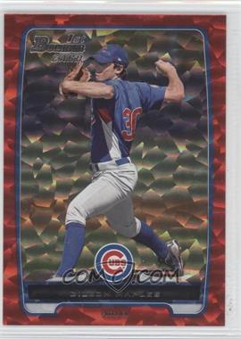 2012 Bowman Prospects Red Ice #BP75 - Dillon Maples /25