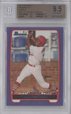 2012 Bowman Prospects Retail Purple #BP102 - Oscar Taveras [BGS 9.5]