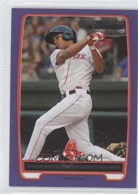 2012 Bowman Prospects Retail Purple #BP105 - Xander Bogaerts