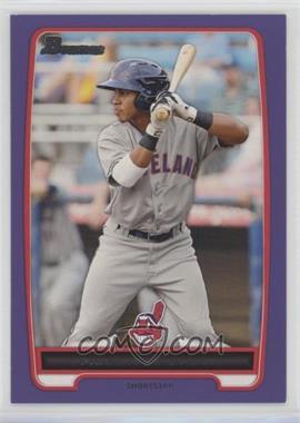 2012 Bowman Prospects Retail Purple #BP3 - Francisco Lindor