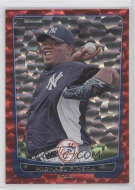 2012 Bowman Red Ice #124 - Michael Pineda /25
