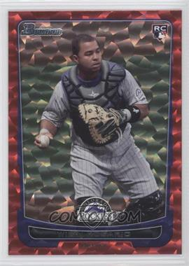 2012 Bowman Red Ice #218 - Wilin Rosario /25