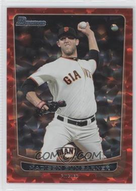 2012 Bowman Red Ice #42 - Madison Bumgarner /25