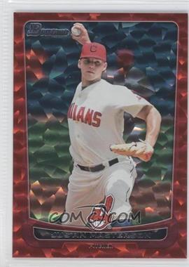 2012 Bowman Red Ice #58 - Justin Masterson /25
