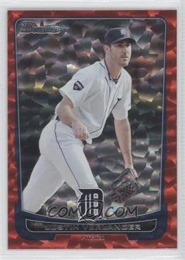2012 Bowman Red Ice #77 - Justin Verlander /25