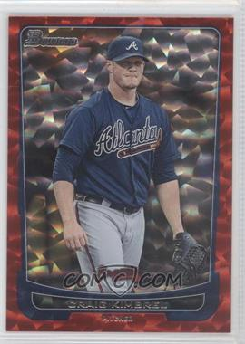 2012 Bowman Red Ice #97 - Craig Kimbrel /25