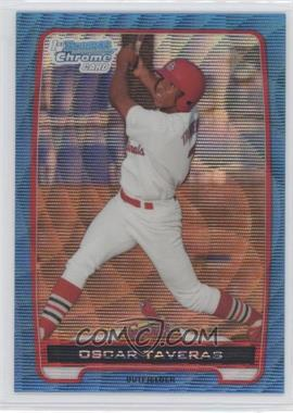 2012 Bowman Redemption Chrome Prospects Refractor Blue Wave #BCP102 - Oscar Taveras
