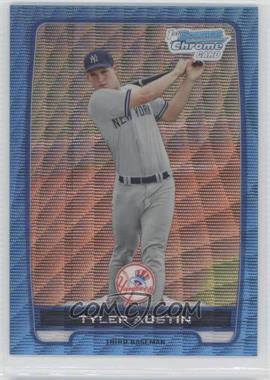 2012 Bowman Redemption Chrome Prospects Refractor Blue Wave #BCP17 - Tyler Austin