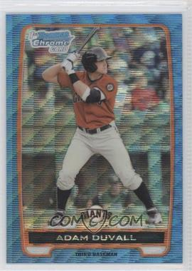 2012 Bowman Redemption Chrome Prospects Refractor Blue Wave #BCP44 - Adam Duvall