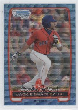 2012 Bowman Redemption Chrome Prospects Refractor Blue Wave #BCP66 - Jackie Bradley Jr.