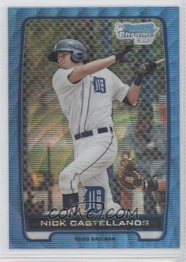 2012 Bowman Redemption Chrome Prospects Refractor Blue Wave #BCP78 - Nick Castellanos